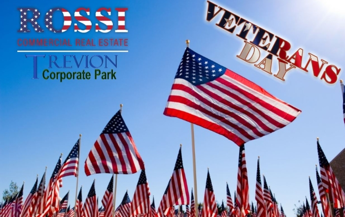 Trevion ROSSI Veterans Day Flags